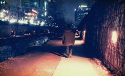 2017년 3월 11일 밤의 청계천 산책 썸네일 사진