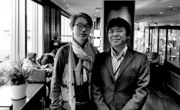 나가오씨와 함께 호텔 로비에서 썸네일 사진
