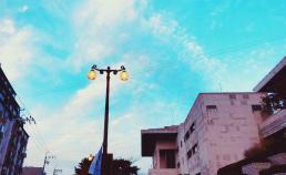 2017년 11월 12일 부산국도극장 주변 부산 문화회관의 하늘 썸네일 사진