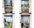 부천 시청 4층 엘레베이터 랩핑!! 썸네일 사진