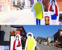 인천 아트플랫폼에서 살아오름 캐릭터들과 함께 썸네일 사진