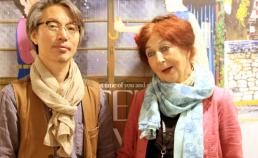 프린스앤 프린세스의 스탭분과 안시 연필로 명상하기 부스에서 썸네일 사진