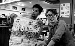 8월 21일 권오중 배우님과 소나기 포스터 싸인 썸네일 사진