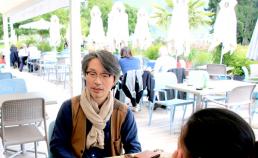 안시 애니메이션 영화제에서의 인터뷰 썸네일 사진