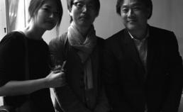 2016년 칸 영화제에서 박찬욱 감독과 서희정 스탭 ,안재훈 감독 썸네일 사진