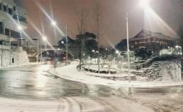 2017년 1월21일 자정 남산의 눈 썸네일 사진