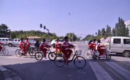 중국 YIN CHUAN 풍경 썸네일 사진