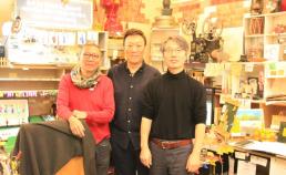 """2016년 10월 3일 프로젝트 """" T """" 의 시나리오 작가인 홍콩의 필립첸 방문 썸네일 사진"""