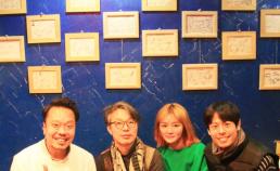 무녀도 녹음중 배우님들과 썸네일 사진