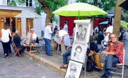 2017년 6월 3일 몽마르뜨 언덕 / 디지털 카메라 썸네일 사진