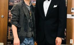 부산국제 영화제에서 장형윤 감독님과 썸네일 사진