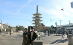 2016년 12월 21일 샌프란시스코 재펜 타운 / 박민구 학생과 썸네일 사진