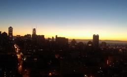 016년 12월 20일 아침 해뜨는 시간 샌프란시스코 썸네일 사진