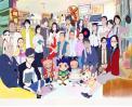 [2016-02-12] 캐릭터 총출동! 연필로명상하기 신년인사 썸네일 사진